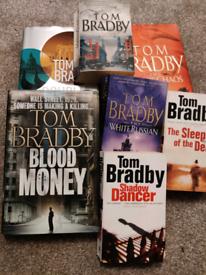 Tom Bradby books x7. Free to view anytime