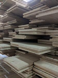 Unfinished Solid Hardwood