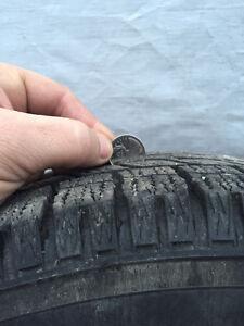 Mag 16 pouces pour Audi A4 avec pneus d'hiver Toyo. Gatineau Ottawa / Gatineau Area image 4