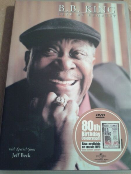 B.B. King - Live by Request ,dvd