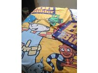 Boys single quilt cover