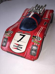 Old tin race car toy 60s(non fall)Taiyo Japan