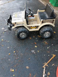 12 volt toy electric jeep
