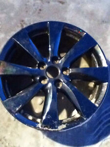 5 bolt Mitsubishi RVR chrome rims