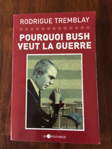 Livre de Rodrigue Tremblay