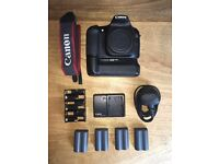 Canon EOS 30D DSLR Camera (inc. Lens and Battery Grip)
