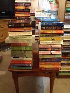 NORA ROBERT's books ....3.50 each