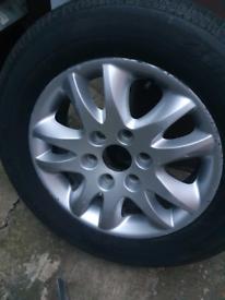 Kia Sedona Alloy Wheel 235/60/17
