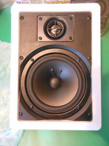 Quest Q650 In-Wall or In-Ceiling 2-way audio speakers