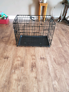 Small dog crate $40 obo