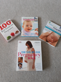 Selection of pregnancy and weaning books