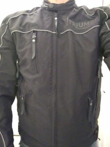 Veste de moto noir small