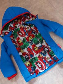 Kid's MARVEL coat, age 2-3yr