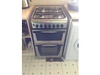 Dual fuel cooker in good condition