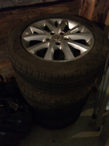 Volkswagen rims, Summer & Winter Tires, Roof Rack