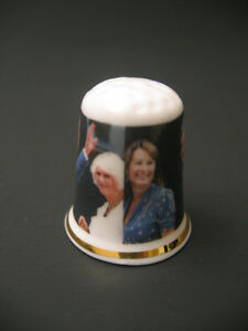 PRINCE GEORGE'S GRANDPARENTS THIMBLE