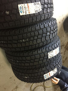 Four New 255 / 70 R18 Hercules Avalanche Xtreme Winter tires