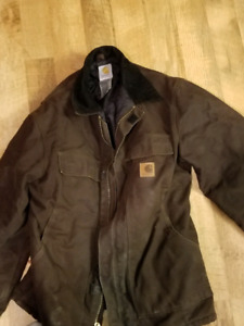 Mens carhartt winter jacket
