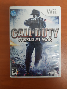 Wii games & acc - Call of Duty - three diff versions