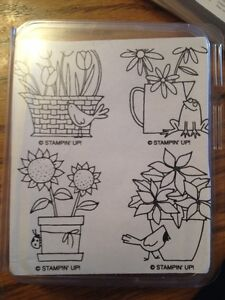 Stampin up flower for all seasons London Ontario image 1