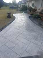 Stamped Concrete Finishing & Restoration
