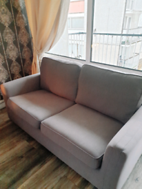 2 Seater and 3 Seater DFS Couch in Grey