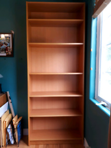 IKEA adjustable book shelf