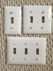 Light Switches & Wall Plates - LIKE NEW!