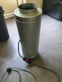 6 inch extractor fan isomax