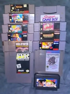 Super NES/NES Games! NEWLY UPDATED
