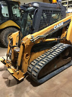 Perfect Plow Machine- 2009 Case 440CP Track Loader