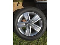"4x New Devonport 17"" Alloys with tyres for VW Transporter"