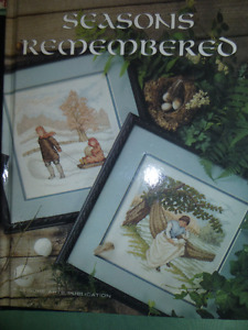 6 BOOKS EXCLUSIVE EMBROIDERY,NEEDLEPOINT,AND SEWING KEEPSAKES