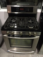 "ASSEMBLY APPLIANCES 30"" STAINLESS STEEL TOP GAS STOVE"