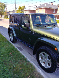 Immaculate 2008 Jeep Wrangler Sahara Unlimited SUV, Crossover