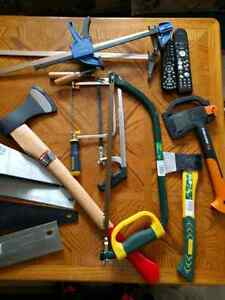 Axes various sizes