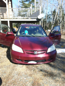 04 civic parts car