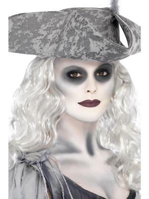 GHOST SHIP FACE PAINT HALLOWEEN SCARY LADY PIRATE FANCY DRESS MAKEUP](Halloween Ghost Pirate Makeup)