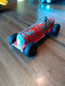 Hubley #5 Race Car 1940s Toy