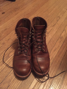 Red Wing Iron Ranger 8111 Size 9.5EE
