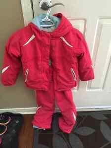 Girls size 4-5 Columbia snowsuit Kitchener / Waterloo Kitchener Area image 1
