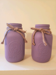 Wedding Decorations - Rustic/Purple