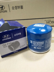 Hyundai kia oil filters oem #26300-35504 $6