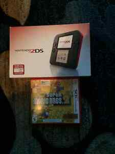 Nintendo 2ds with game like new