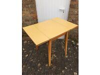 Mid century fold leaf table