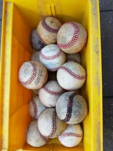 Used Baseballs - Hardball
