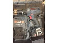 Bosh drill an screwdriver
