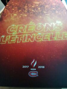 Billets De Saison Des Canadiens 321BB Blanc Centre Glace