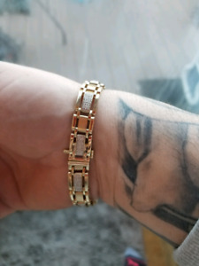 10k gold bracelet heavy