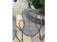 Garden Furniture 6 Chairs and Table